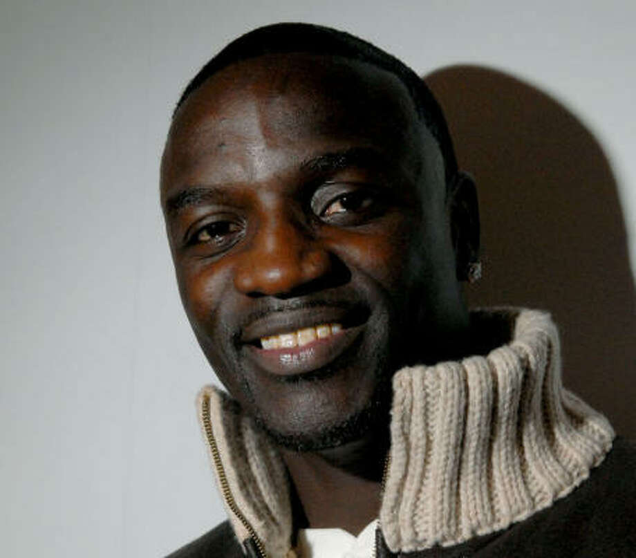 Akon's latest caters to everyone. Photo: PAUL HAWTHORNE, Associated Press
