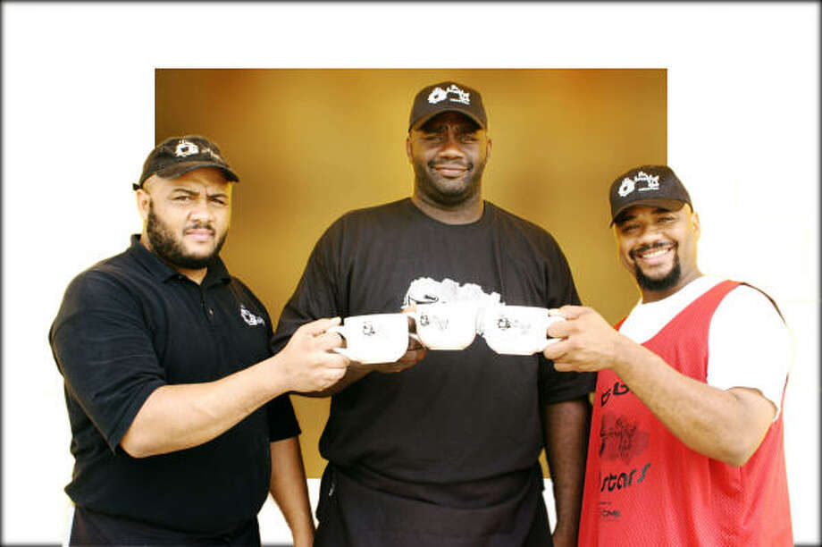 The Breakfast Klub: Anthony Davis, left, Jerry Davis and Marcus Davis Photo: Pinnacle Awards