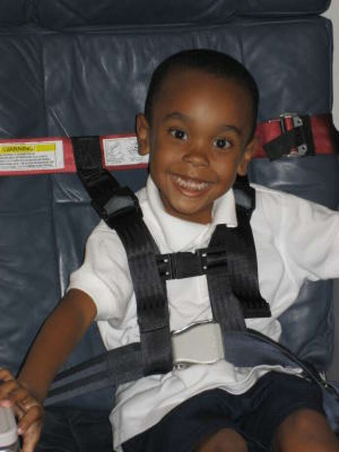 The CARES harness is far easier to carry on to airplanes than a traditional child seat. Photo: CARES