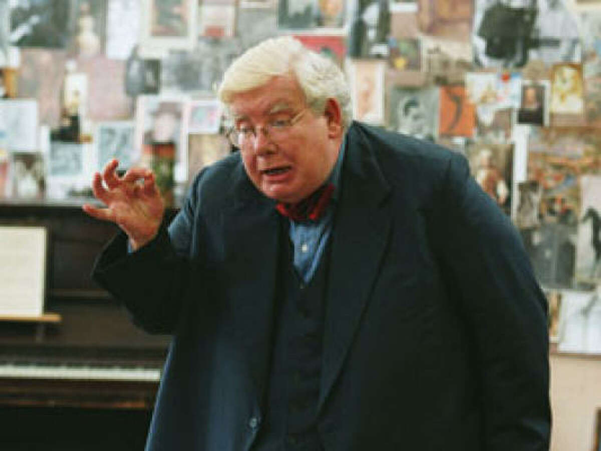 Richard Griffiths stars as the professor in The History Boys.