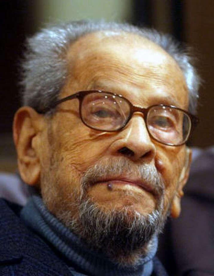 Naguib Mahfouz Photo: AMR NABIL, AP File