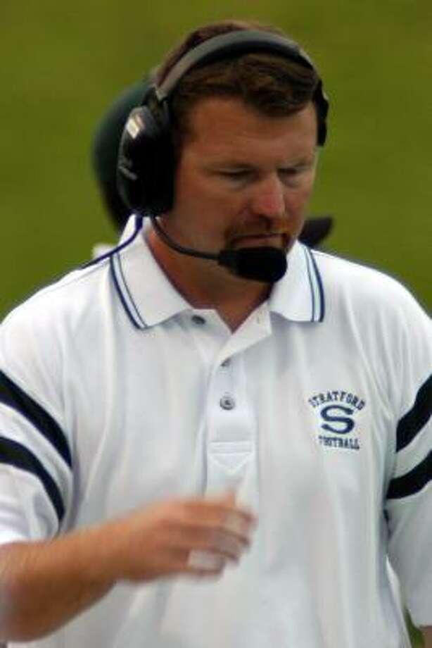 Stratford High football coach Eliot Allen. Photo: Robert Barreda, For The Chronicle