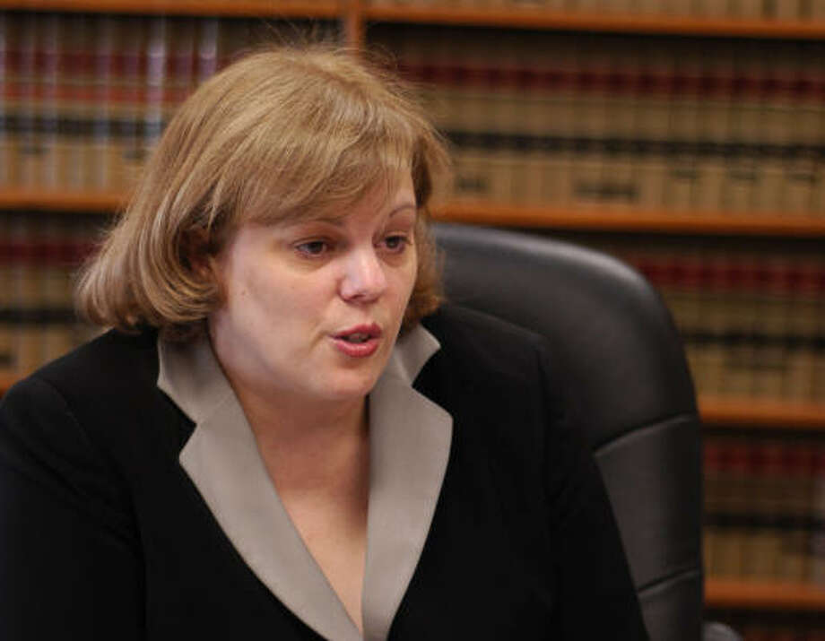 """Judge Susan Criss scolded a BP manager for what she called """"a stunt."""" Photo: Carlos Javier Sanchez, Chronicle File"""