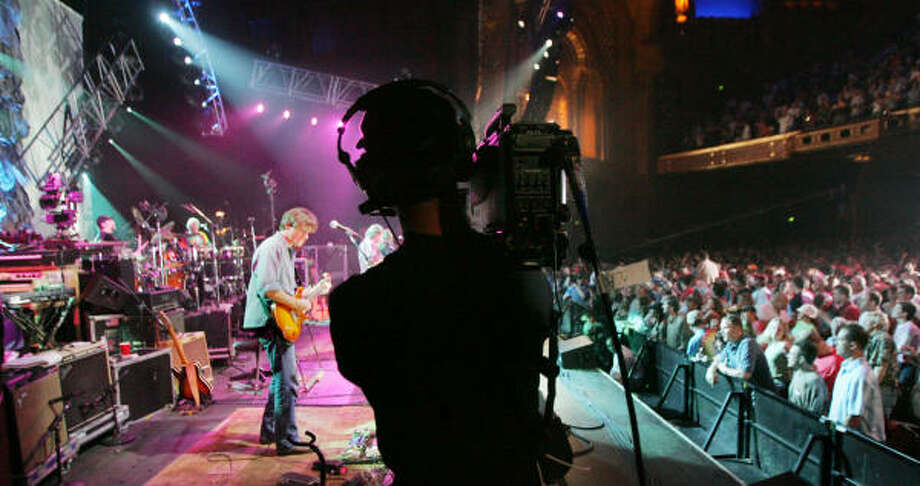 Widespread Panic was recorded during its Atlanta concert and simulcast to theaters across the country. Photo: Associated Press