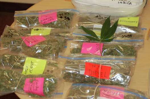 Here are proceeds from a marijuana investigation in Bethlehem (Bethlehem Police photo)