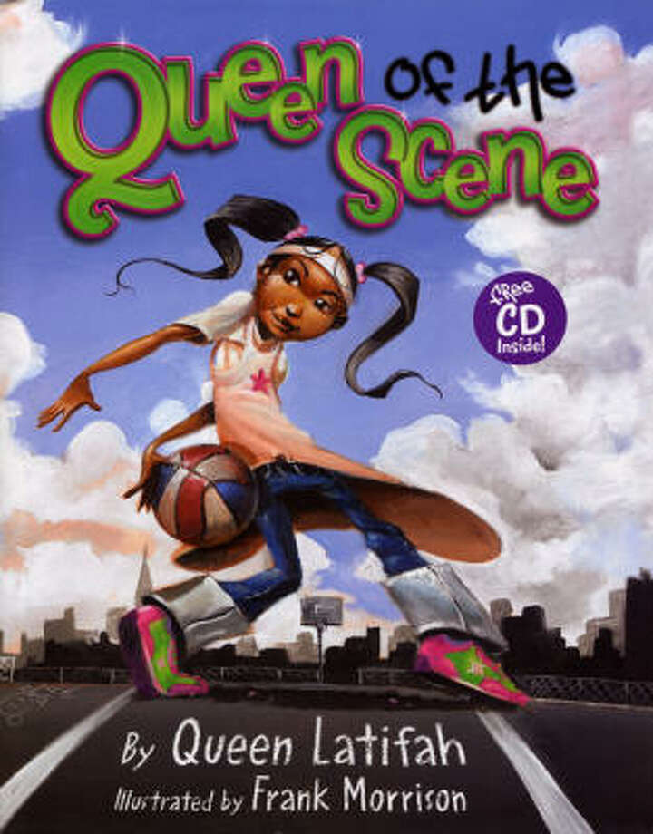 1Queen of the Scene by Queen Latifah; illustrated by Frank Morrison