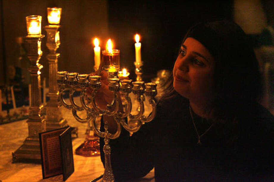 Rachel Yaghobian finds a strong connection between light and life. Photo: Carlos Antonio Rios, Chronicle