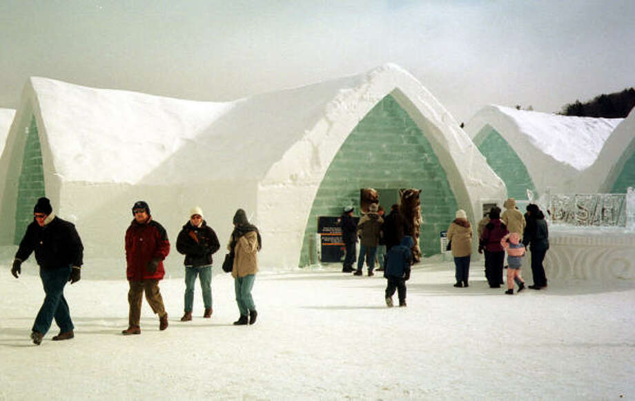Quebec's Ice Hotel is the only one of its kind in North America. Photo: TANIA FUENTEZ, Associated Press