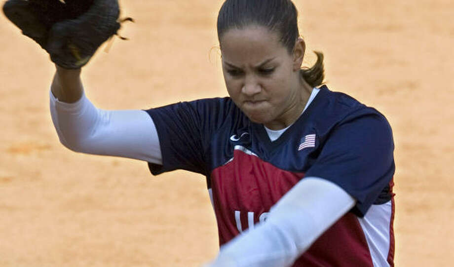 Cat Osterman helped the U.S. to its sixth world softball championship. Photo: NG HAN GUAN, AP