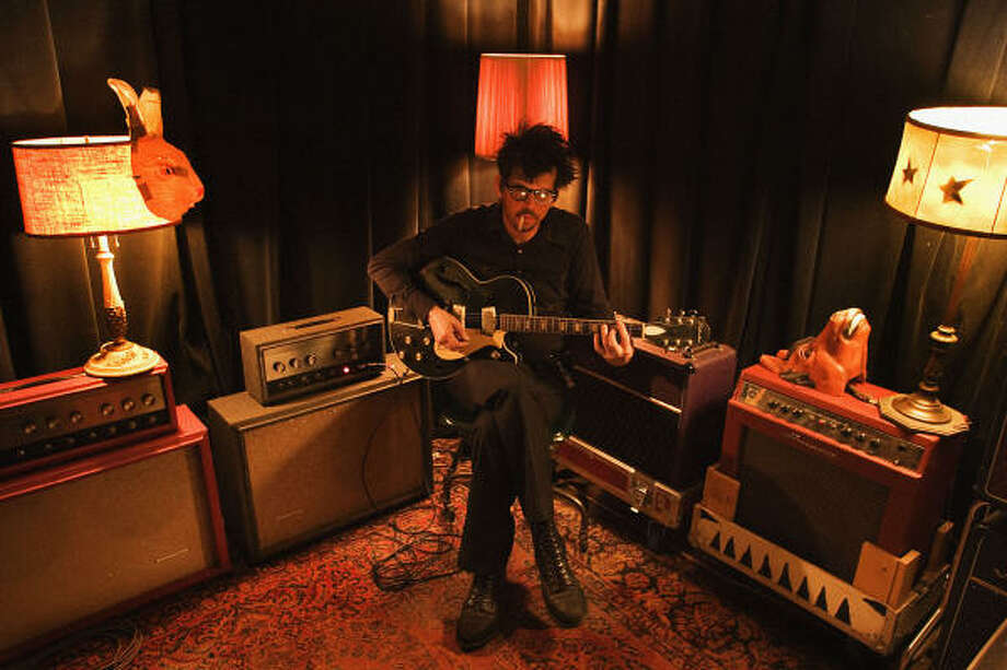 After a five-year hiatus, Mark Linkous, also known as Sparklehorse, returns with a new album, Dreamt for Light Years in the Belly of a Mountain. Photo: Timothy Saccenti Photography