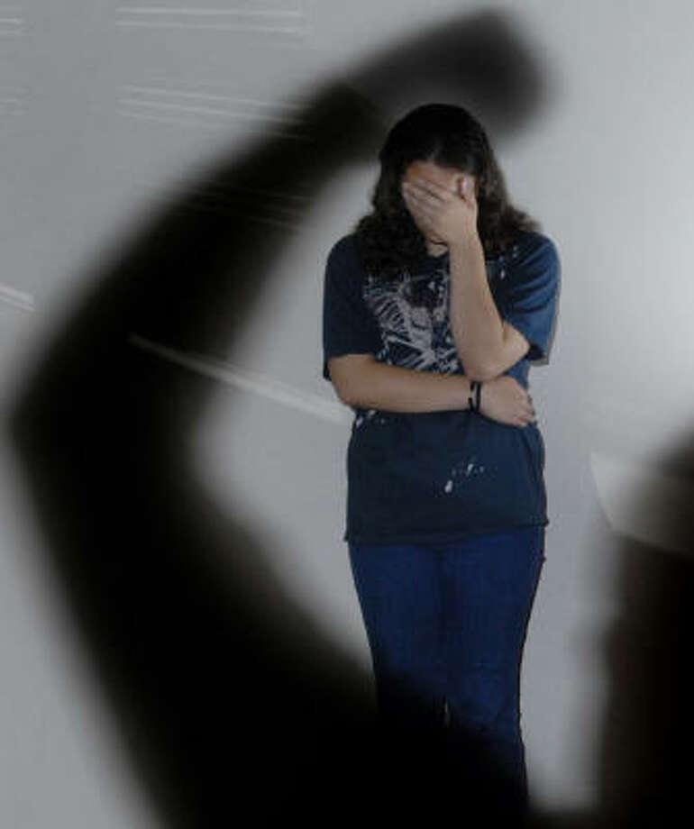 María relata que durante su niñez vio a su madre sufrir violencia doméstica. Photo: Carlos Javier Sánchez, Para La Voz