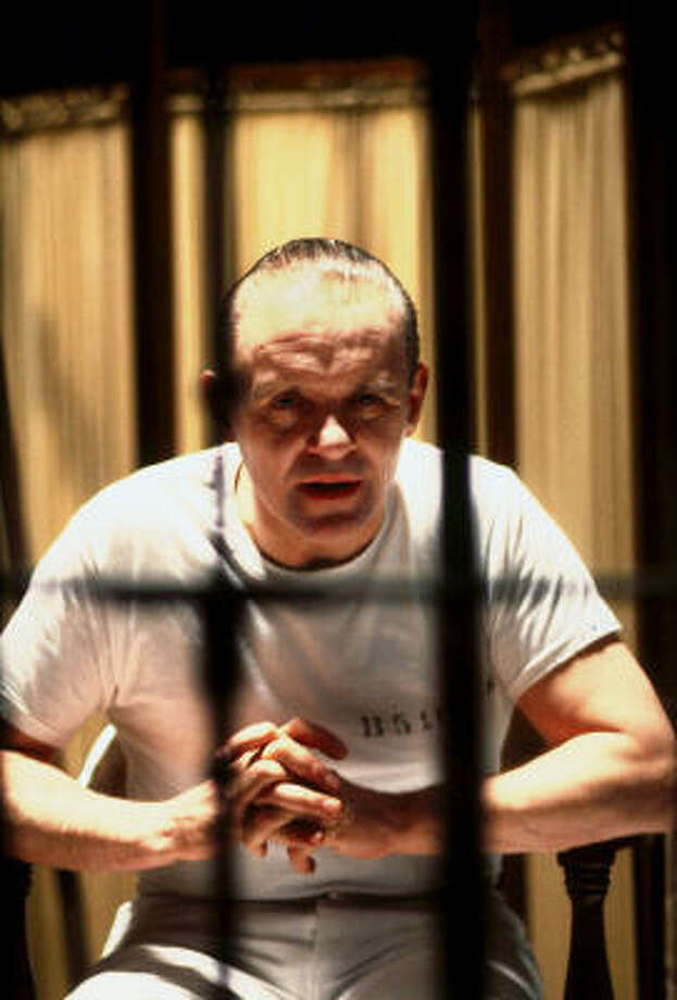 Anthony Hopkins as Dr. Hannibal Lecter in Silence of the Lambs. Photo: Courtesy Photo