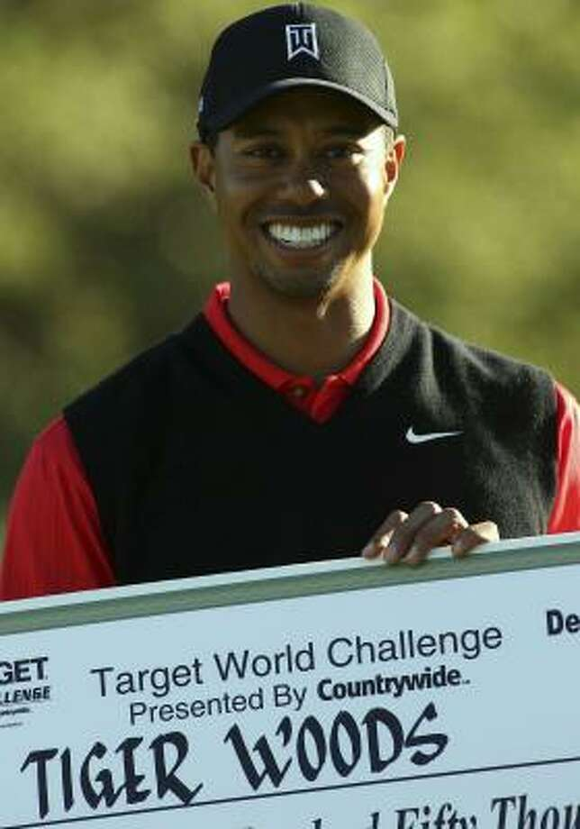 Tiger Woods could be missed in Kapalua. Photo: Jeff Golden, Getty Images