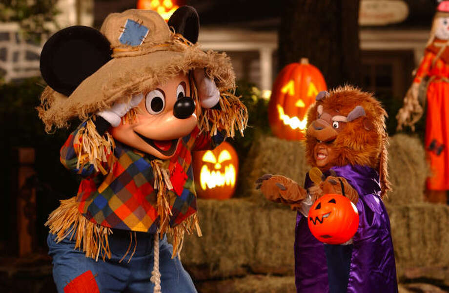 Mickey's Not-So-Scary Halloween party at Walt Disney World in Orlando, Fla., is in full swing and continues through Oct. 31. Photo: WALT DISNEY Co.