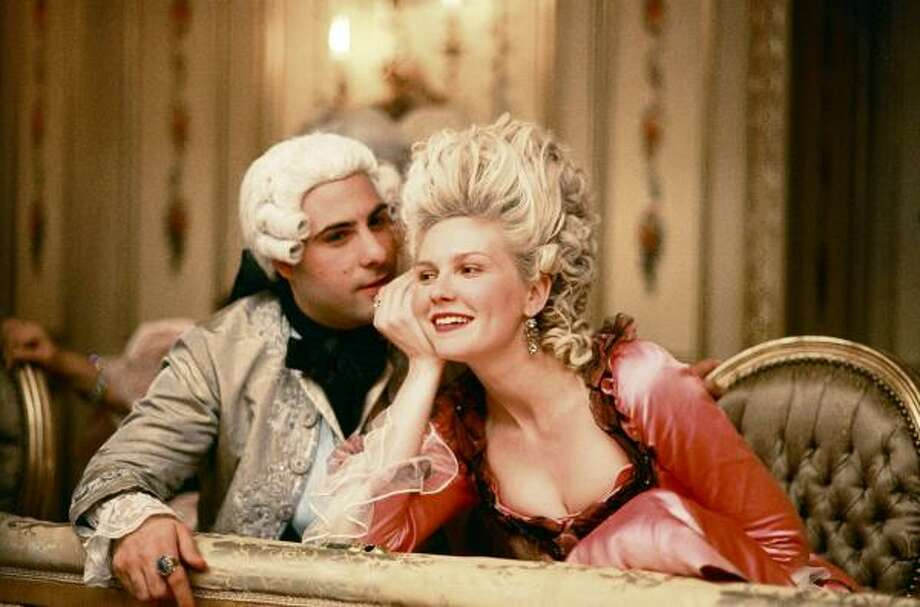 Jason Schwartzman and Kirsten Dunst star in Marie Antoinette. Photo: Sony Pictures
