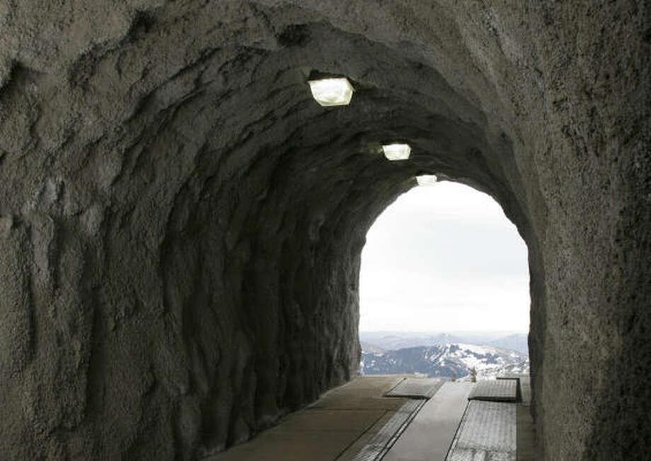 Utah's Snowbird resort has built North America's first ski tunnel with a conveyor lift. Photo: Eric Schramm, Snowbird Ski & Sun