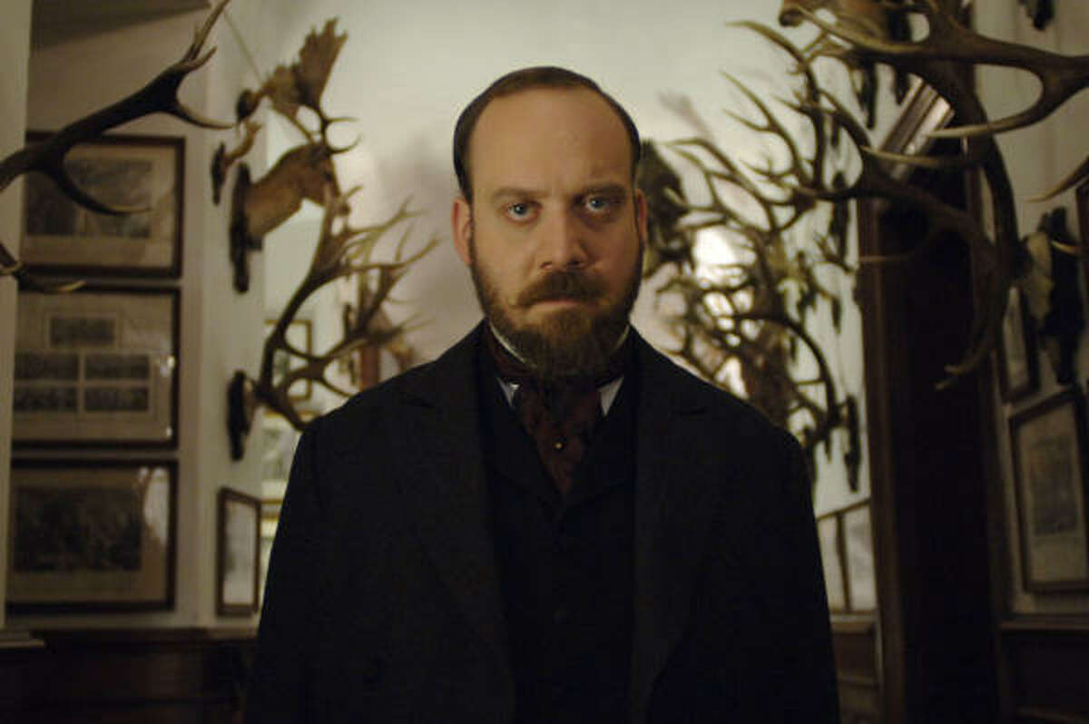 """Paul Giamatti, in a scene from The Illusionist, prefers to keep a lower public profile than many actors, but critical acclaim has changed his life. """"I have a lot more choices now,"""" he says."""