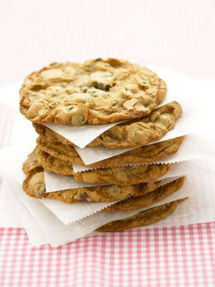 Giant Chocolate Chip Cookies call for a giant appetite or a friend willing to share. Photo: Clive Streeter, EVERYDAY FOOD