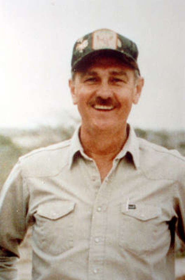 Lloyd Kolbe, a gregarious pilot, filmmaker, and big-game hunter, disappeared along with two Mexican wildlife officials while conducting an aerial survey of desert bighorn sheep in 1992. Photo: Richard Carson, Houston Chronicle