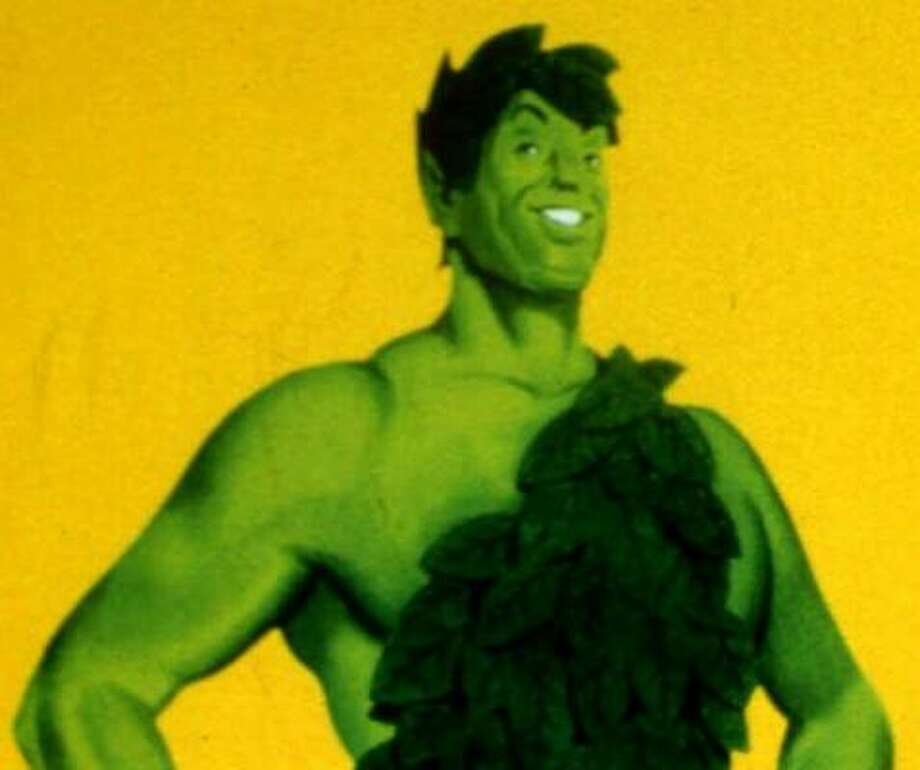 The Jolly Green Giant has been a brand character since the 1920s. Photo: Jim Mone, AP File