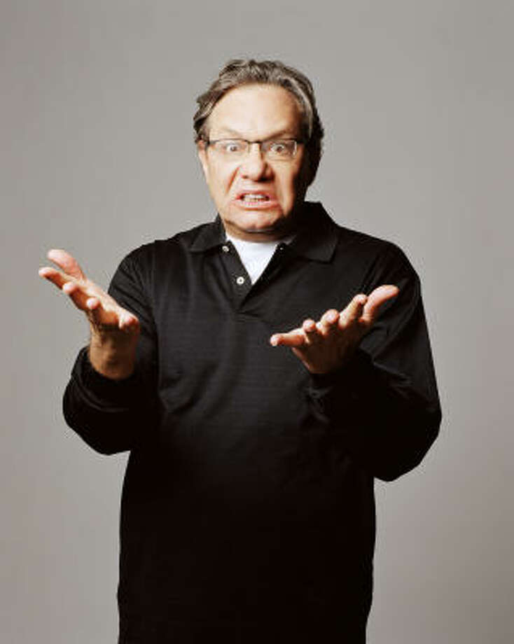 Comedian Lewis Black has four new films out this fall, including Accepted, which opened Aug. 21. Photo: Courtesy Photo