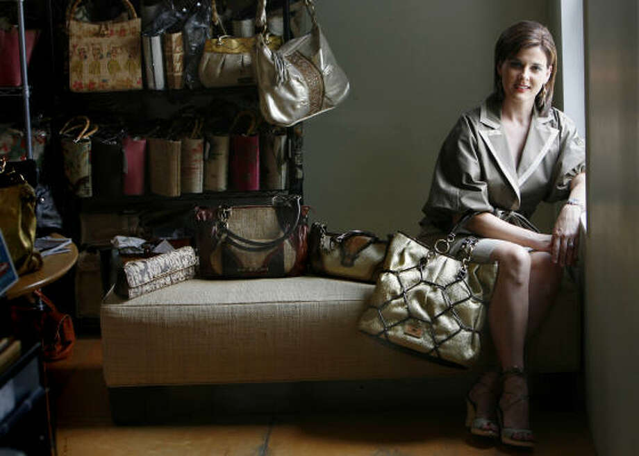 Elaine Turner recently opened her first free-standing boutique in Dallas and plans to expand to other cities. Photo: Sharon Steinmann, Houston Chronicle