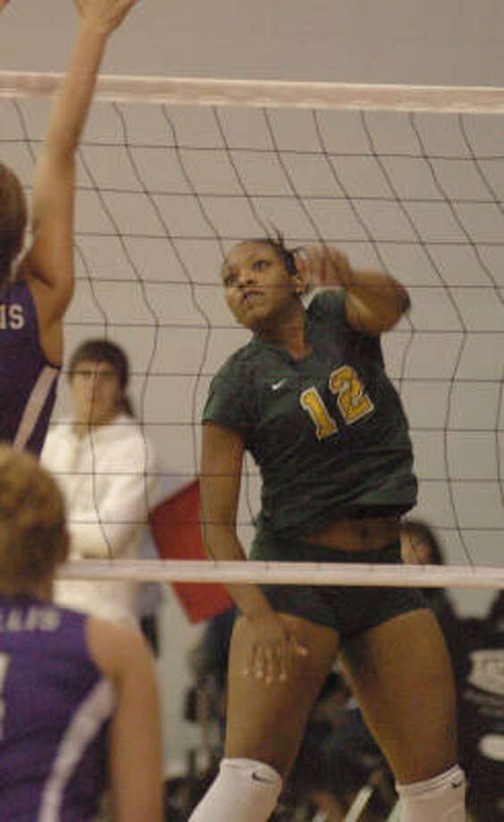 Ervette Powell has helped Klein Forest to a strong start in volleyball. Photo: David Hopper, For The Chronicle