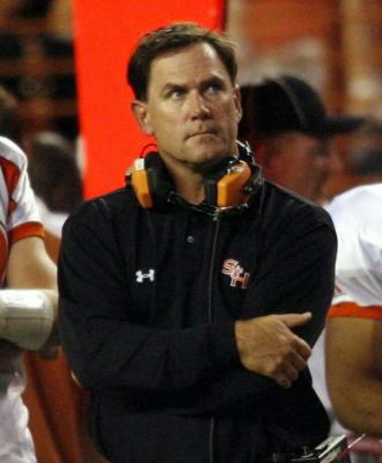 Sam Houston State head coach Todd Whitten thinks it's too early to tell how teams will do in the Southland Conference this season. Photo: MIKE STONE, REUTERS