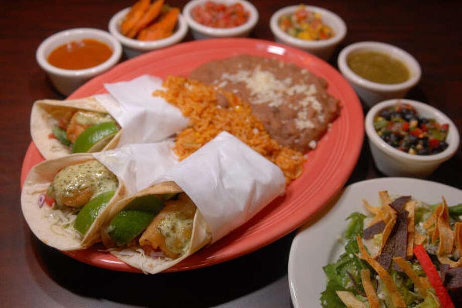 Tacos del Patron. Photo: Carlos Javier Sanchez, Chronicle