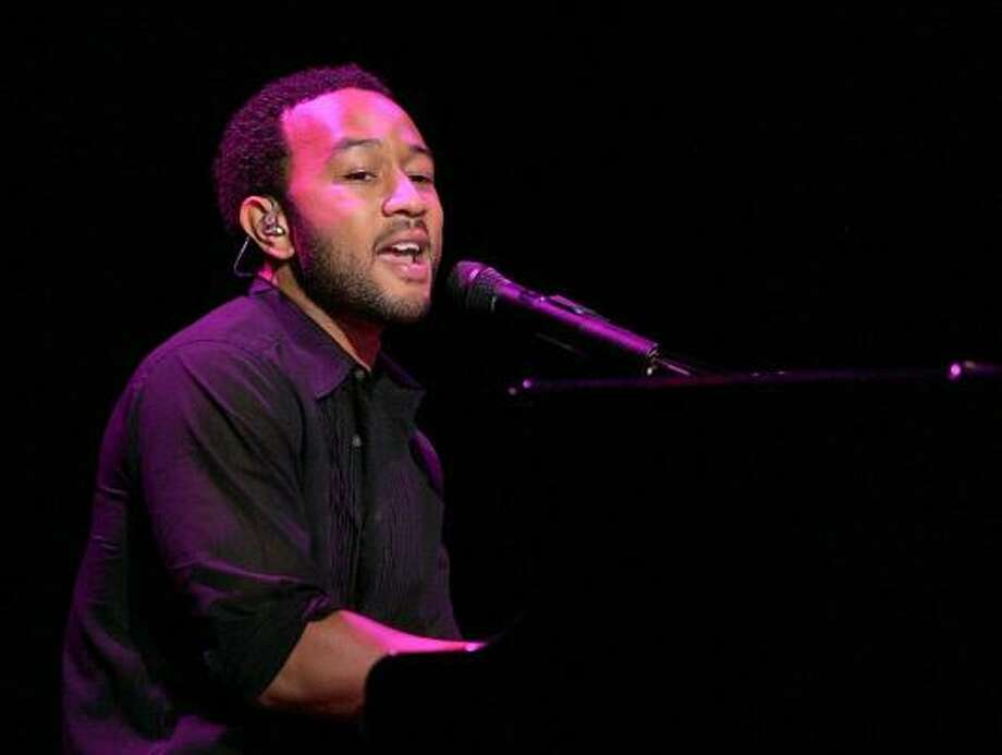 Channeling the '60s, John Legend brings back some of that old-time R&B on Once Again. Photo: Justin Sullivan, Getty Images