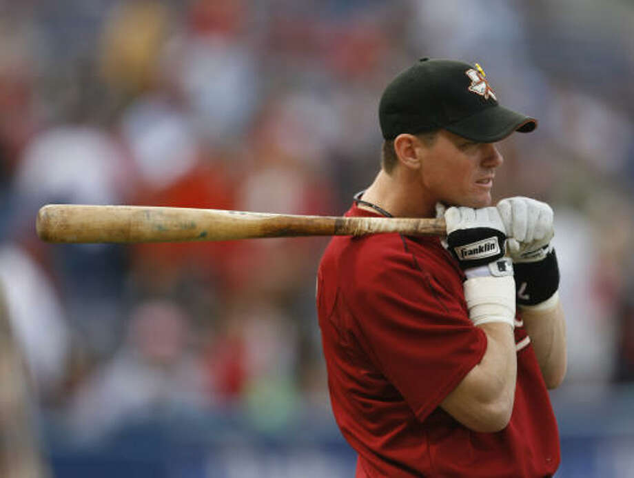 Craig Biggio during batting practice in 2006. Photo: Chronicle File