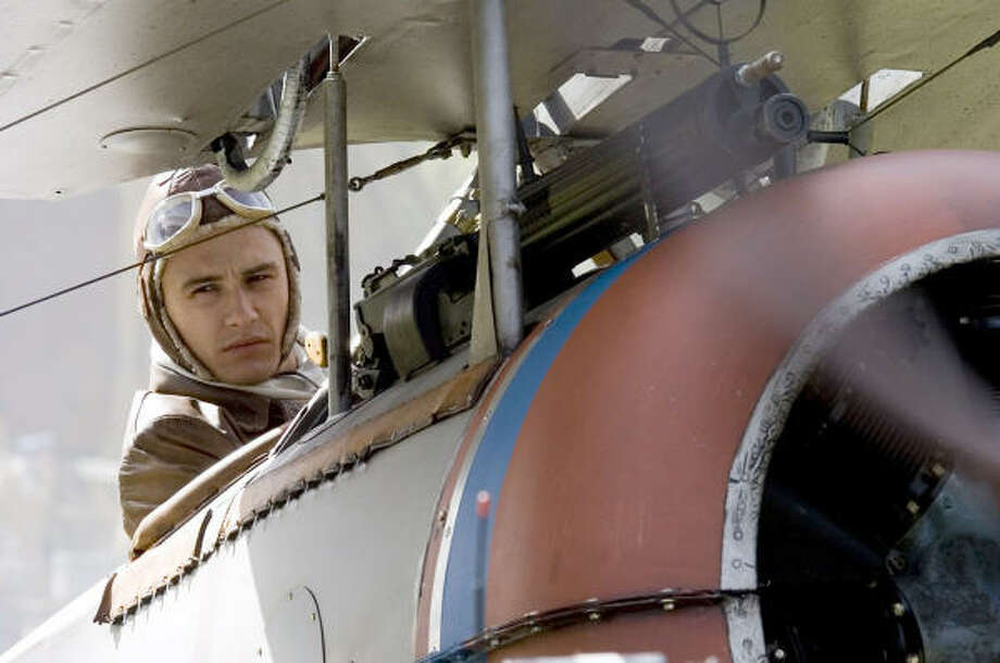 James Franco plays one of a handful of Americans who fight for the French during WWI in Flyboys. Photo: Courtesy Photo