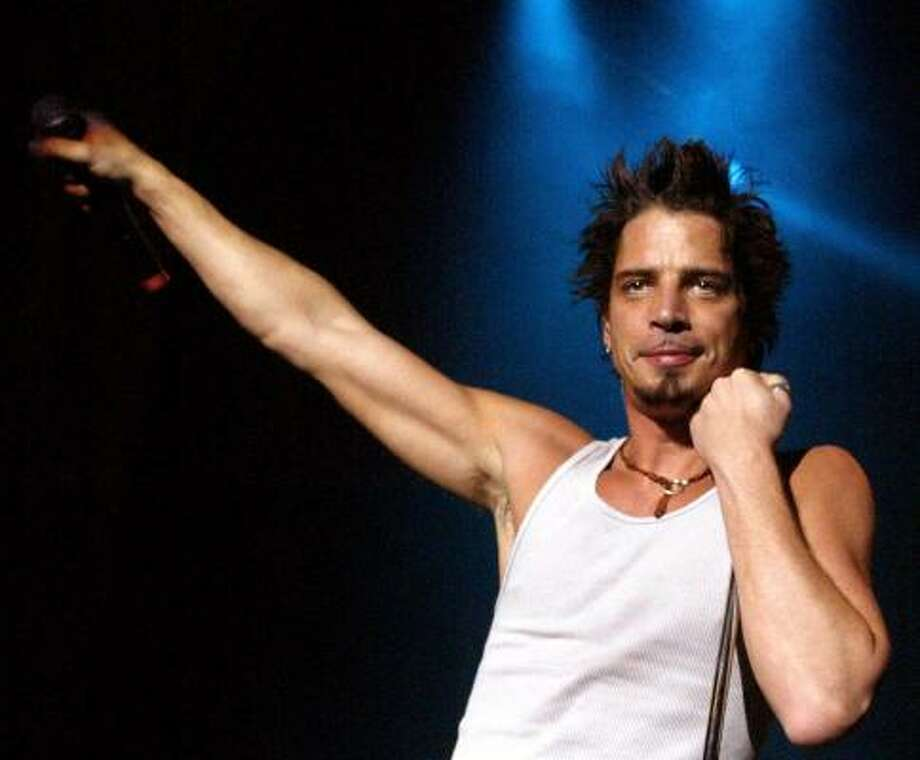 Audioslave's Chris Cornell is responsible for the latest Bond theme, You Know My Name. Photo: ETHAN MILLER, REUTERS