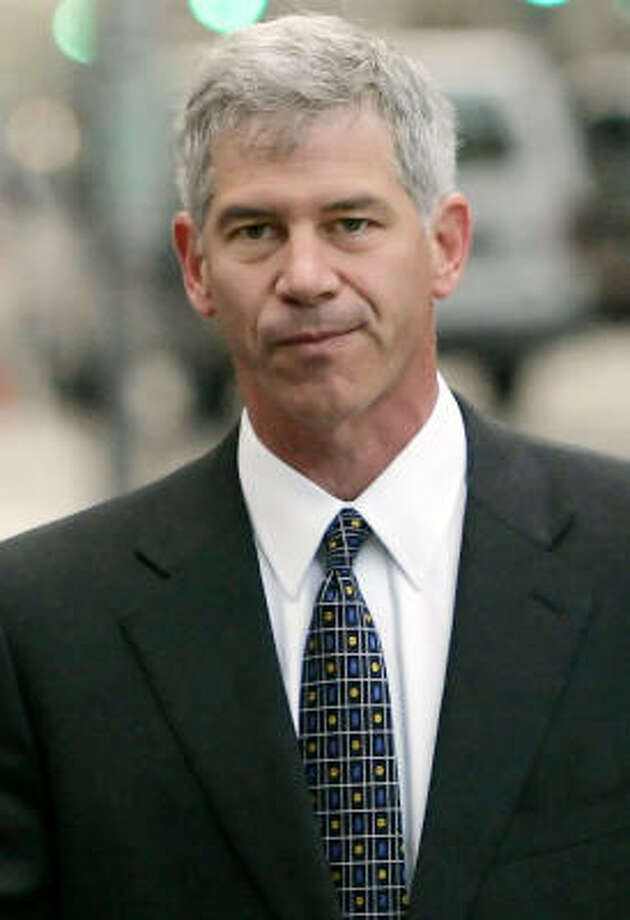 Defense filings for leniency say former executive Andrew Fastow has volunteered over the past few years. Photo: DAVID J. PHILLIP, AP