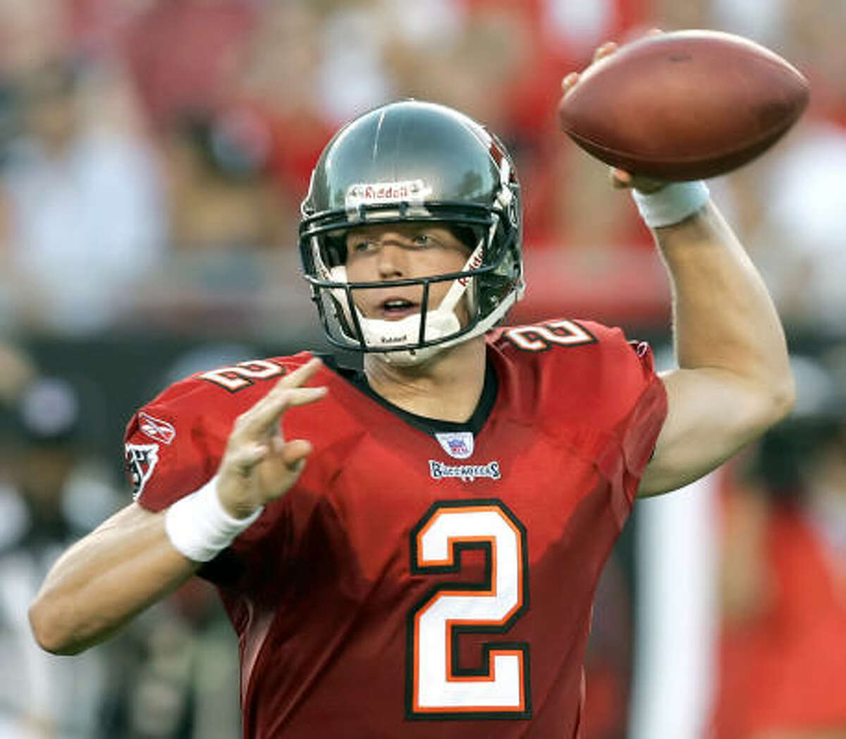 Though he is not expected to play much tonight, Chris Simms is ready to show that he is a bona fide NFL quarterback.