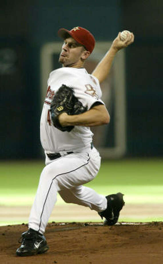 Pitcher Roy Oswalt was removed from trade talks with the Baltimore Orioles late Sunday. Photo: Jessica Kourkounis, For The Chronicle
