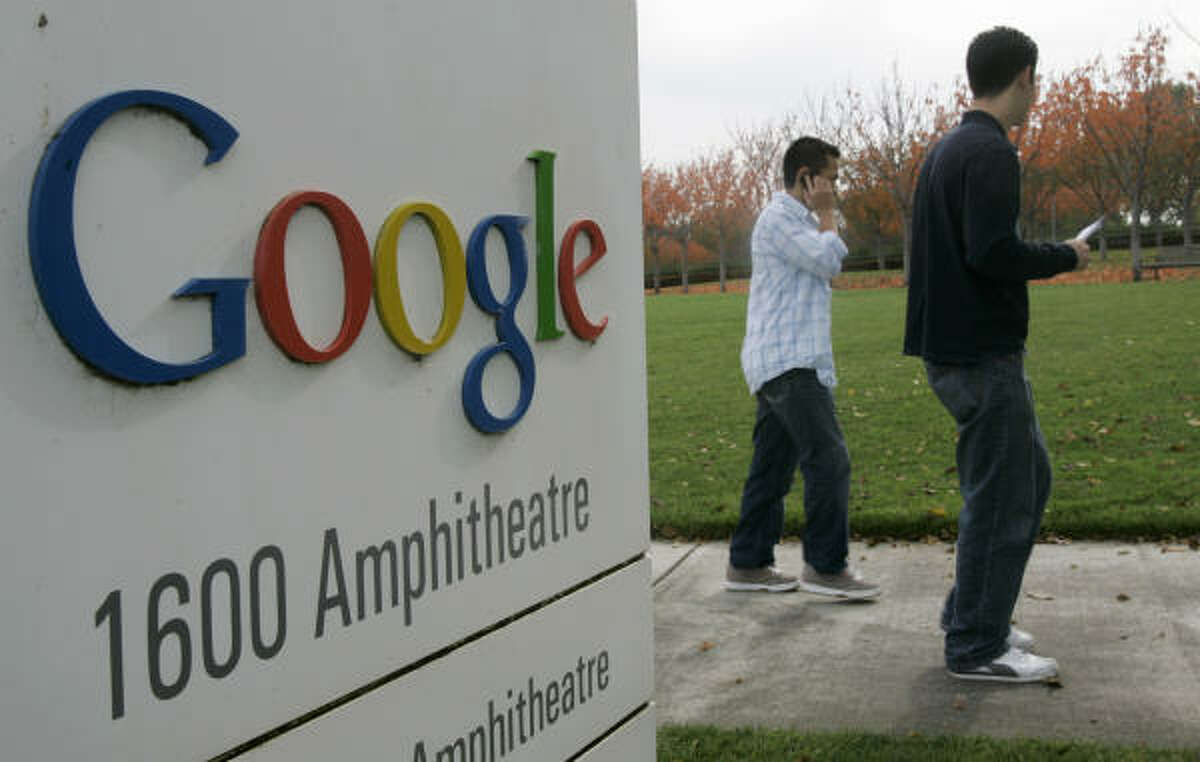 Google's Silicon Valley campus is in Mountain View, Calif. The company's stock price passed $500 for the first time.