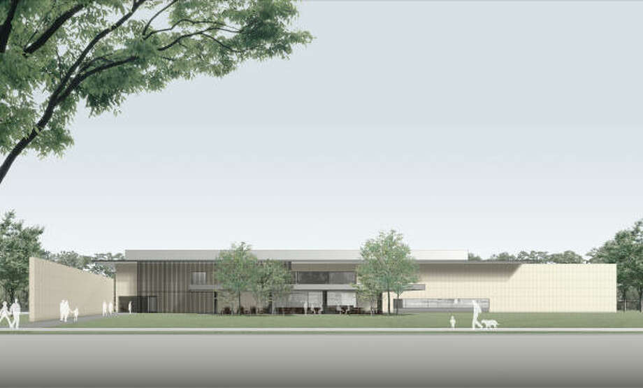 The Asia House takes shape in this artist rendering. Photo: Taniguchi And Associates