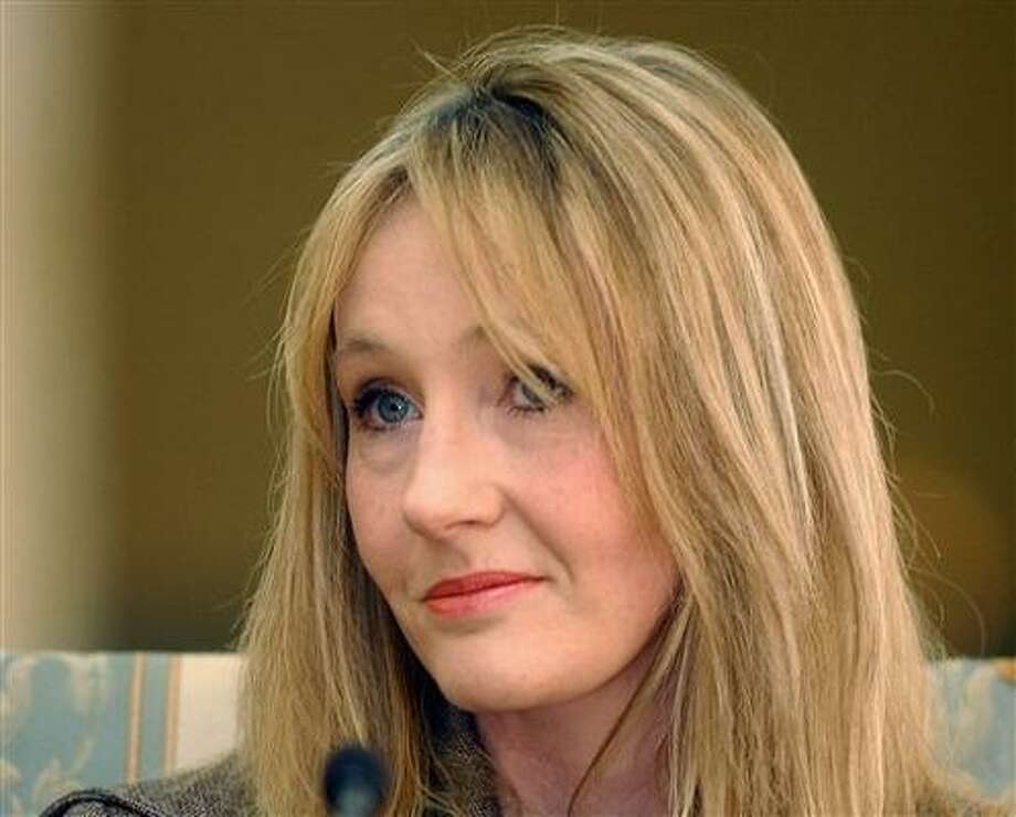 Author J.K. Rowling has special plans for the final book in the Harry Potter series. Photo: Associated Press