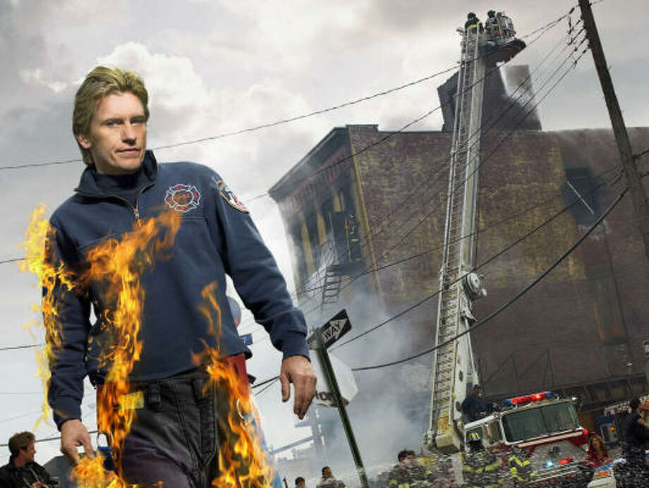 Denis Leary plays New York City firefighter Tommy Gavin on the hit FX show Rescue Me. Photo: FX