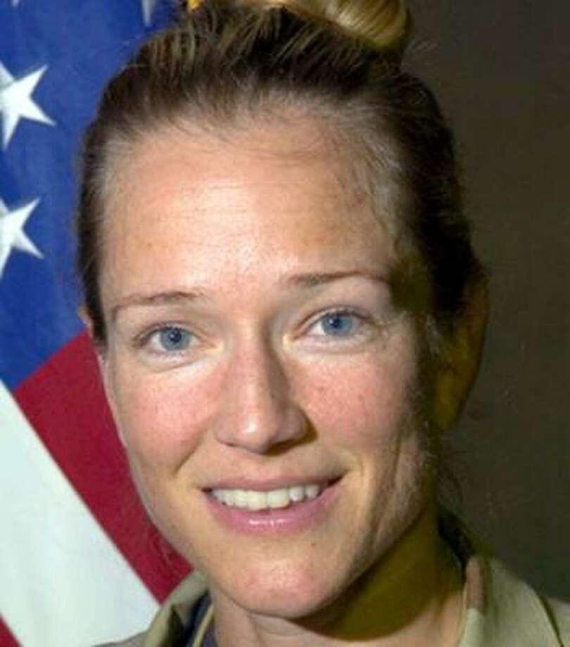 Maj. Jill Metzger vanished during a shopping trip to the Kyrgyz capital, Bishkek. Photo: Handout, U.S. Air Force Photo