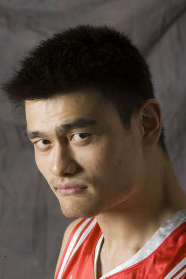 Yao Ming Photo: BRETT COOMER, CHRONICLE