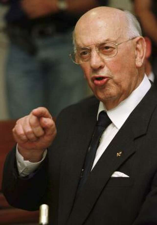 P.W. Botha presided over the country's worst repression. Photo: MIKE HUTCHINGS, REUTERS