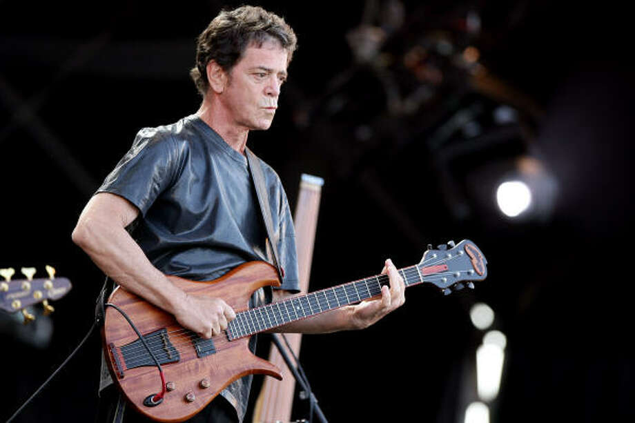 A rock icon for 40 years, Reed will perform Sept. 15 on the festival's main stage. Photo: ALESSIA PIERDOMENICO, REUTERS