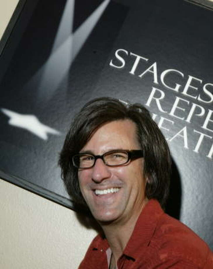 After 10 years as artistic director of Stages Repertory Theatre, Rob Bundy says he's leaving. Photo: D. Fahleson, Houston Chronicle
