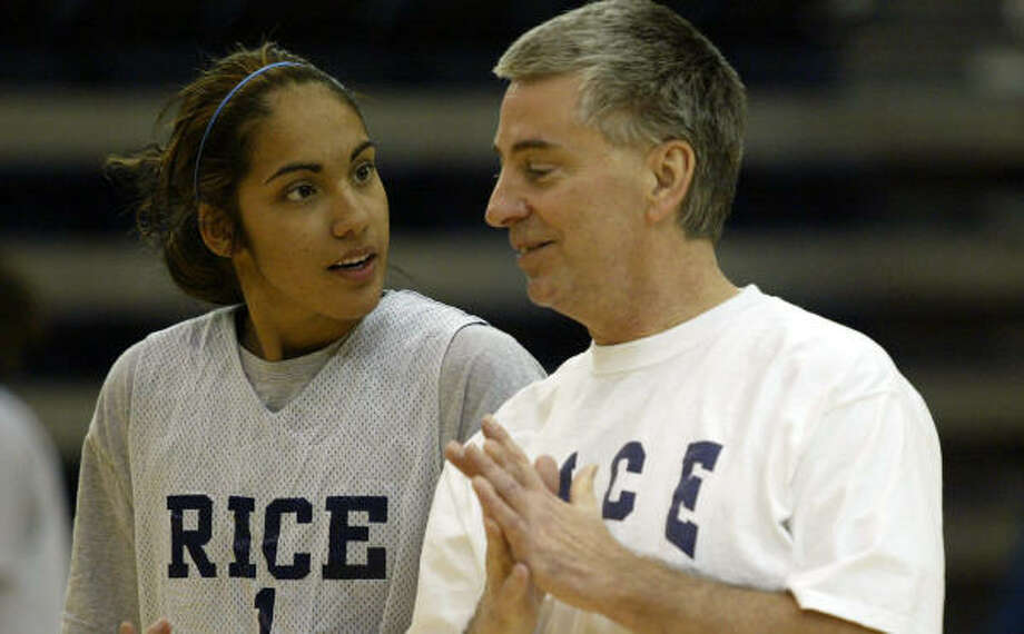 C-USA coaches selected Rice as the favorite to win the women's basketball title this year. Photo: Jessica Kourkounis, Houston Chronicle