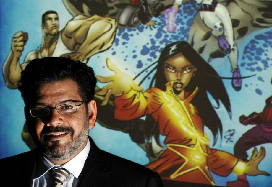 When Naif Al-Mutawa created The 99, he was careful not to give his characters all of the 99 Islamic attributes, which would have put the superheroes on a par with God. Photo: BRIAN SNYDER, REUTERS