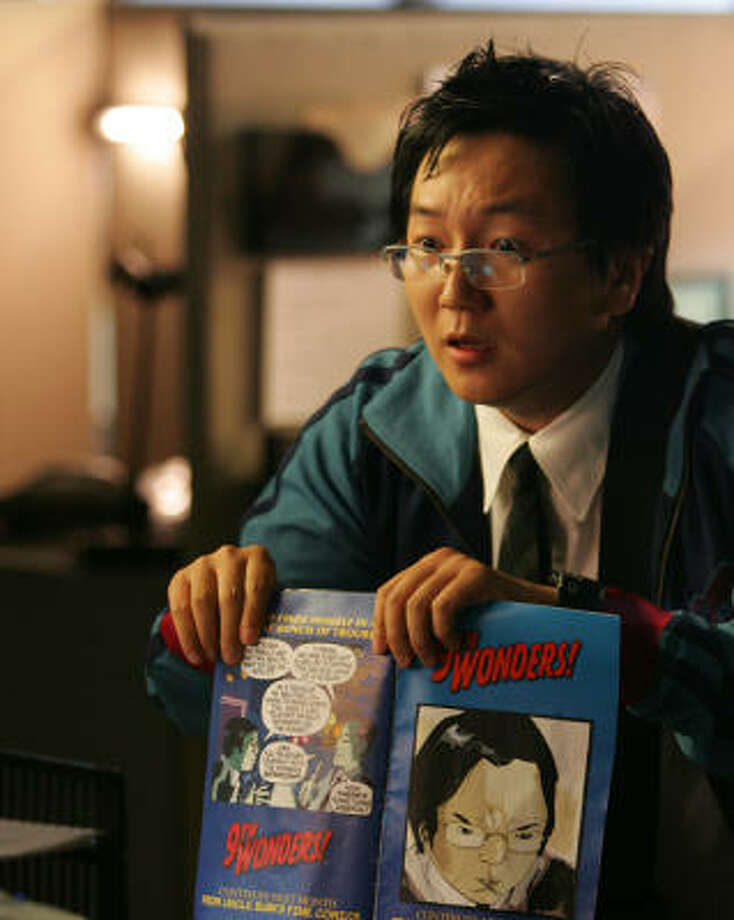 Hiro Nakamura (Masi Oka) brings some levity to the otherwise dark hit series Heroes. Photo: NBC