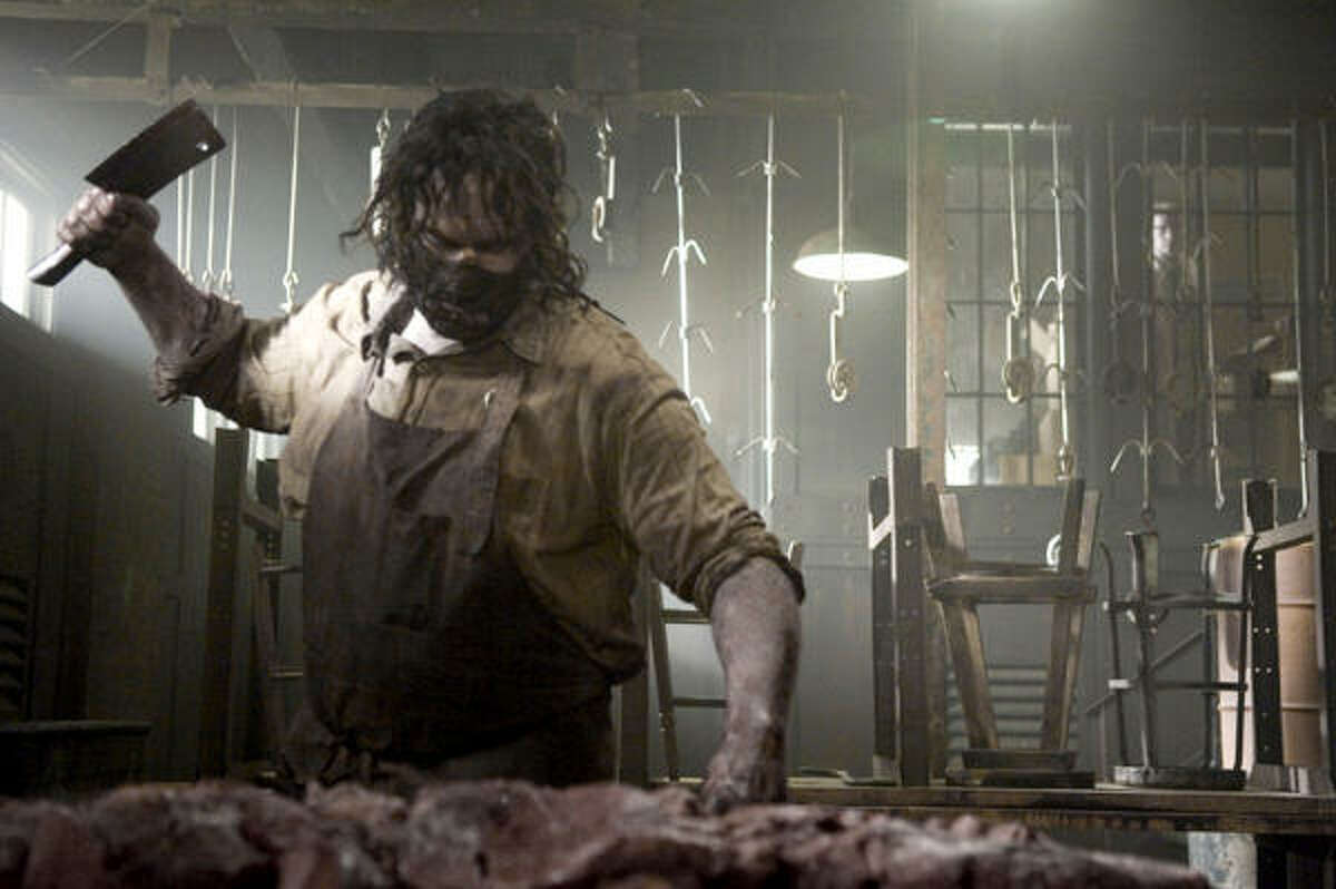 Leatherface finds his place as a killer in The Texas Chainsaw Massacre: The Beginning.
