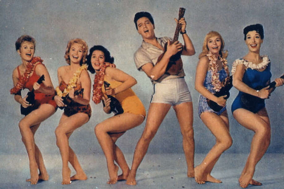 """""""Can't Help Falling in Love"""" by Elvis Presley - """"Blue Hawaii""""  Photo: Chronicle File"""